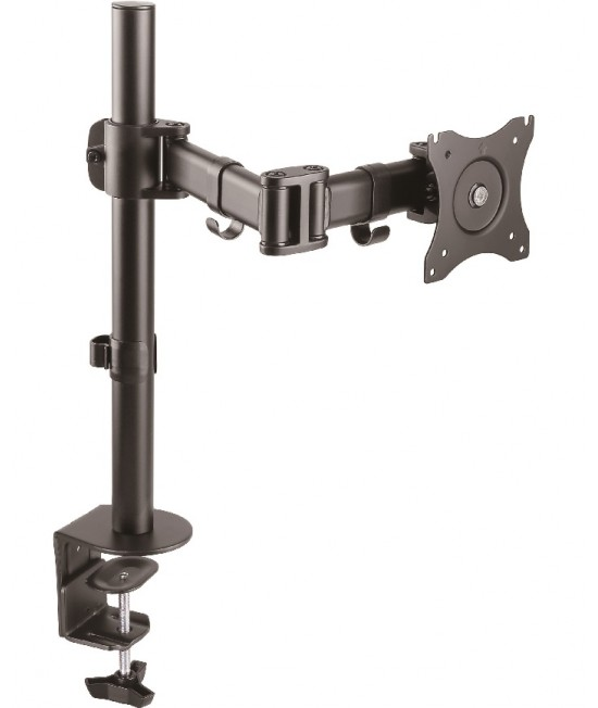 Single LCD Monitor Desk Mount Stand Fully Adjustable up to 32""