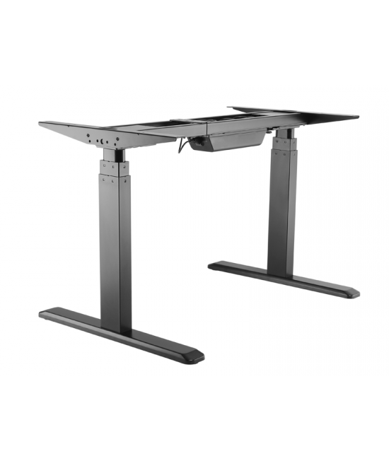 Electric Ergonomic Dual Motor Sit Stand Height Adjustable Desk Frame
